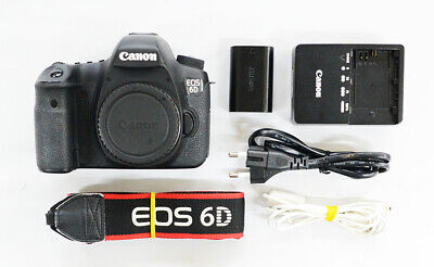 "# Canon EOS 6D 20.2MP Digital SLR Camera - Black ""20000 cut""  S/N 7501"