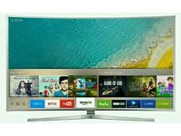 "Samsung 49"" Curved 4k UHD new KU Series LED SMART WI-Fi TV BUILT IN HD FREEVIEW ."