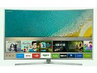 "SAMSUNG55"" UE55KU6500 Curved 4K Ultra HD HDR Smart LED TV Freeview HD Freesat HD"