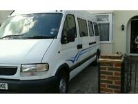 Vauxhall movano lwb campervan