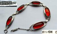 Braccialetto, Amber, Fischland, 835 Argento, 琥珀 E376 -  - ebay.it