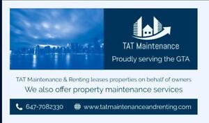 Residential property renting services