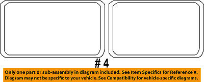 Dodge CHRYSLER OEM Sprinter 2500 Side Panel-Front Weatherstrip Seal 5104246AA