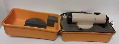 David White Instruments Auto Survey Level Al8-25 With Case Made In Japan