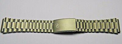 NEW Orfina Porsche Design stainless steel chronograph PD PVD NOS 20mm bracelet