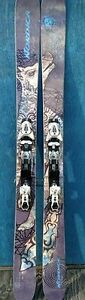 Ladies 177cm Nordica Powder Skis & Bindings