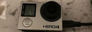 Go pro hero 4 with 3 batteries charger and cases