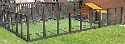 12 Aviary Panels for Chickens.Hens.Ducks.Rabbits.Guiney Pig Duck, Fencing