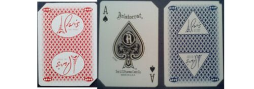 Playing cards PARIS casino used 10 decks