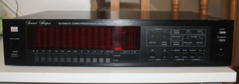 ADC SS-525X Sound Shaper Automatic Equalizer/Analyzer - Great Condition - Tested