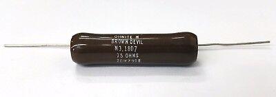 New Ohmite B20j75r 75 Ohm 20 Watt Wirewound Ceramic Power Resistor 20w