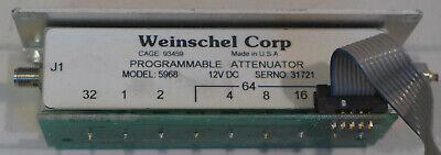 Weinschel 5968 Programmable Attenuator
