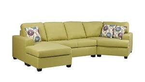 CANADIAN MADE FABRIC SECTIONALS ON SALE (AD 295)