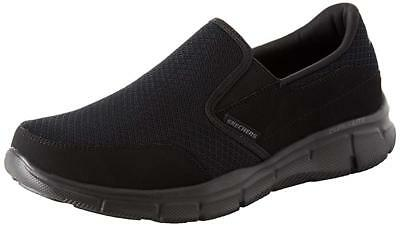 Skechers Sport Men's Equalizer Persistent Slip-On Sneaker, Black, 13 XW US