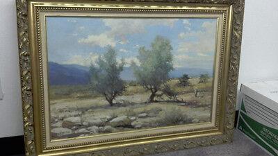 Robert W. Wood Original Painting SMOKE TREES