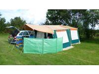Raclet Solena 2-berth Trailer Tent