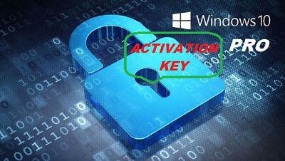 Microsoft Windows 10 Pro Professional 32/64bit Digital License Download Key