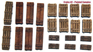 1-35-Universal-Wooden-Crates-2-Value-Gear-Details-22pcs-Resin-Stowage