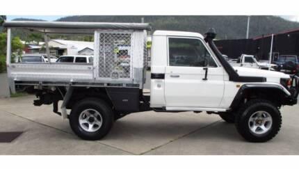 2001 Toyota Landcruiser 4x4 5sp Manual 2dr Single Cab Diesel Ute & landcruiser canopy in Townsville Region QLD | Gumtree Australia ...