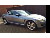 Mazda rx8 for sale mot till end of feb 18 good condition no start issues leather seats 2 keys