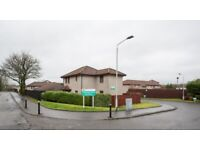 Attractive, modern first floor flat on sheltered development in Paisley, available now