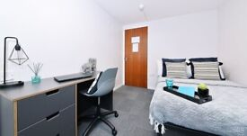 STUDENT ROOMS TO RENT IN NEWCASTLE WITH 3/4 DOUBLE BED, PRIVATE ROOM