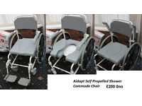 Aidapt-Self-Propelled-Shower-Commode-Chair £200 new