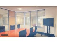 Stunning Office with shared board room, meeting areas and a bar!