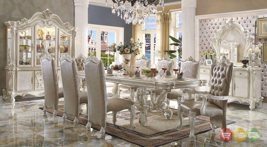 Versailles 5 Piece Formal Luxury Dining