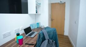 Classic two bed student accomodation at Nottingham city centre with The Glasshouse for £120pw
