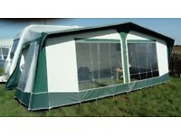 A Bradcot classic full caravan awning - great condition. Doubles your living space.