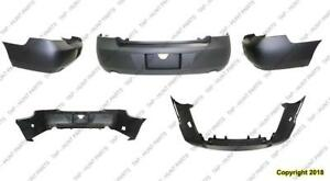 Bumper Rear Primed With Exhust Lt/Ltz/Ss/Police Model CAPA Chevrolet Impala 2006-2013