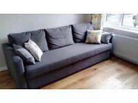 Sofa bed Ikea Frihiten Grey good condition comfortable 3-4 seater. corner sofa bed style