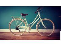 Pendleton Sumerby push bike for sale in mint green