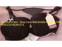 Sexy Lace Balconette Bra size 34B