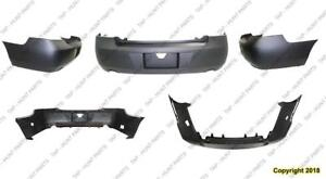 Bumper Rear Primed With Exhust Lt/Ltz/Ss/Police Model Chevrolet Impala 2006-2013