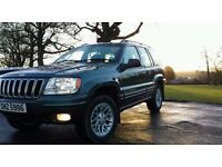 Jeep Grand Cherokee CRD LTD 2.7 diesel auto