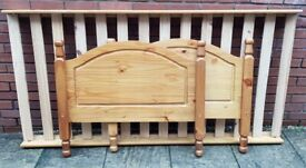single-size pine bed frame. In good condition. ( I have 2 these frames)