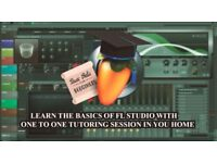 FL Studio : LEARN THE BASICS OF FL STUDIO WITH ONE TO ONE TUTORING SESSION IN YOUR HOME