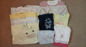 Bundle of girl's clothes 9-12months