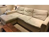 L shape sofa / corner sofa / bed sofa with storage