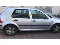 Good working Volkswagen Golf 1.6 2004 (53 reg)