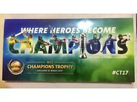 Champions Trophy 2017 tickets
