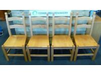 Set of Four Dining Chairs - CHARITY
