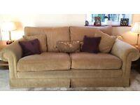 Pair of large matching sofas. £200