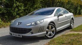 2006 Peugeot 407 GT Coupe!Auto!2.7 V6 Disel!New MOT!New Tires!73K!XenonJBL Audio