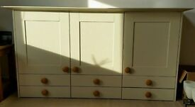 Second Nature Kitchen Dresser cupboards, doors, drawers and more