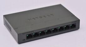 Netgear FS308 8 Port Fast Ethernet Switch.