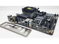 Amd fx 6300 black edition Processor (cpu) motherboard (am3+) Ram (ddr3)