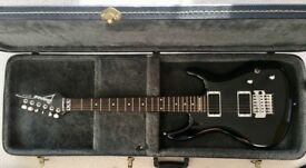 Beautiful black IBANEZ JS100 and hardcase for sale ...